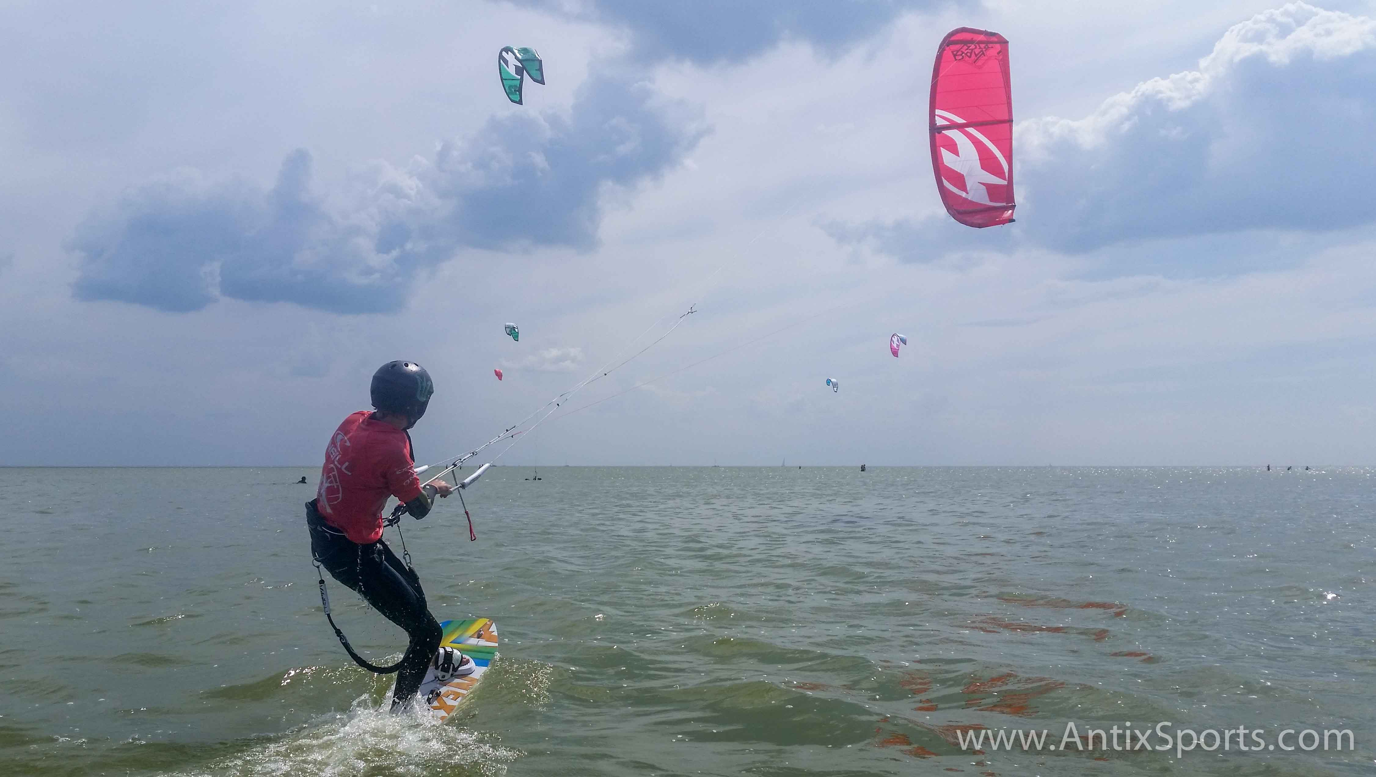 C6N – Kitesurfen in Noord-Holland